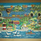 ANTHONY KLEEM Jigsaw Puzzle WHALE TALES 1000 PC Ships Nostalgic Scene Hot Air Balloons
