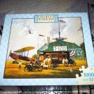 MB JIGSAW PUZZLE Charles Wysocki HERO WORSHIP 1000 pcs Airplane Nostalgia Mail