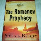 THE ROMANOV PROPHECY Steve Berry HCDJ Book SIGNED FIRST EDITION 2004 THRILLER