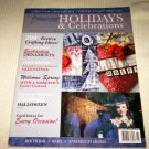 SOMERSET Holidays and Celebrations Volume 2 MAGAZINE 2008 Crafts Ephemera Christmas Projects