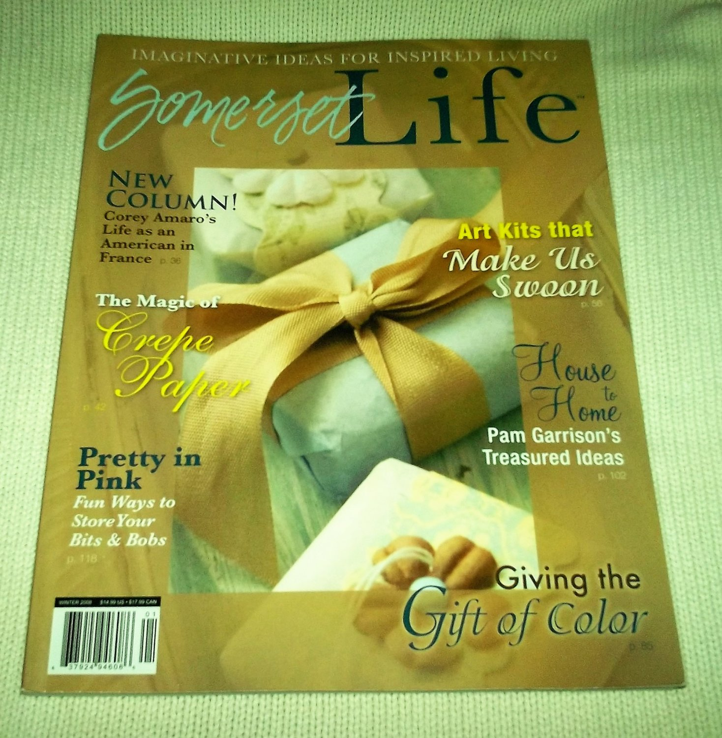 SOMERSET Life MAGAZINE Winter 2008 Creative Blogging MIXED MEDIA ALTERED ART