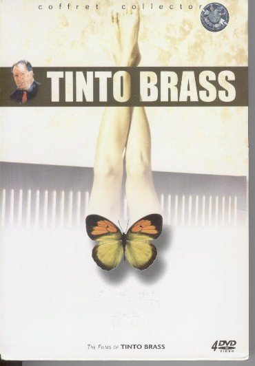 Tinto Brass 12 erotics 4-DVDs BOX SET E