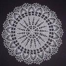 Hand Crochet Doily - Vintage Design - Pure White