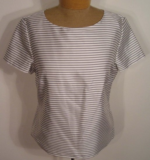 NEW TALBOTS SILK DRESS SHIRT TOP BLOUSE 4 NWT
