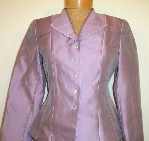 NEW $278 TALBOTS Jacket Blazer Skirt Suit 4P 4 Petites NWT