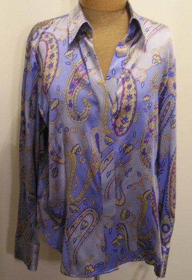 NEW  TALBOTS Women Stretch Dress Shirt Top Blouse 10 NWT $98