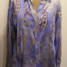 NEW  TALBOTS Women Stretch Dress Shirt Top Blouse 10 NWT $98