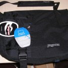 NEW JANSPORT Laptop Notebook Messenger Shoulder Bag Backpack Black NWT