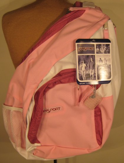 NEW JANSPORT AIRLIFT  Air Cisco Slingbag Sling Bag Backpack NWT