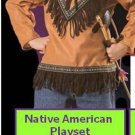 Native American Playset Halloween Costume S Child Boys