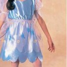 NEW Blue Butterfly Halloween Costume M Child Girls NIP