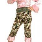 NEW Camo Diva Halloween Costume M 8 10 Child Girls NIP