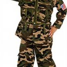 NEW Camo Commando Halloween Costume Toddler 2 4 Child