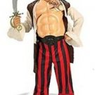 NEW Pirate Boy Halloween Costume M 8 10 Child Medium