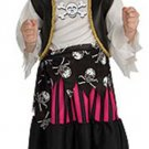 NEW PIRATE QUEEN Girls Halloween Costume S 4 6 Small