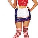 NEW Rag Doll Halloween Costume Adult Medium M 10 14 NIP