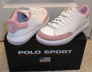 NEW POLO SPORT RALPH LAUREN Womens Sneakers Shoes 9 B NIB