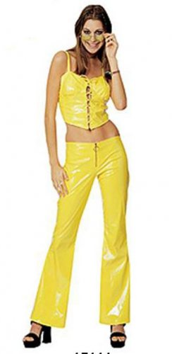 NEW Women MELLOW YELLOW Halloween Costume S Small Sexy