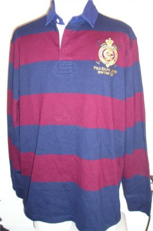 NEW POLO RALPH LAUREN Mens Shirt XL X Large NWT RUGBY