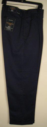 NEW NAUTICA Men Dress Pants 34 32 Wrinkle Resistant NWT