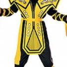 NEW Yellow Ninja Halloween Costumes L Childs Boys Kids