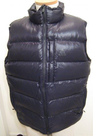 NEW NIKE ACG Mens Down 550 Vest NWT $110 Black L Large