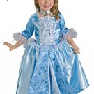 NEW Blue Rosebud Princess Halloween Costume M Kid Child