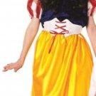 NEW Snow White Halloween Costume M 8 10 Kids Childs NIP