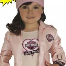 Harley Davidson Biker Girl Halloween Costume L 12 14