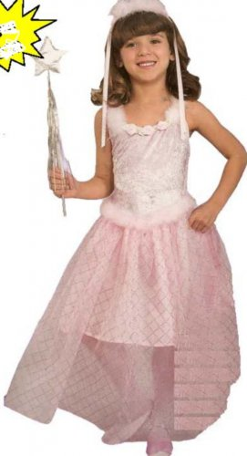 NEW Pink Ballerina Halloween Costume Toddler Kids Child