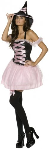 NEW Flirty Pretty Witch Halloween Costume M Adult Sexy