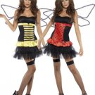 NEW Reversible Bumble Bee Lady Bug Halloween Costume M Medium