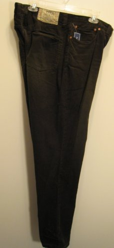 NEW POLO RALPH LAUREN Mens Corduroy Pants 36 32 NWT