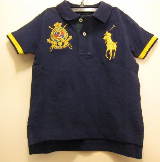 NEW POLO RALPH LAUREN Boys Shirt Top Big Pony 18M Cute NWT