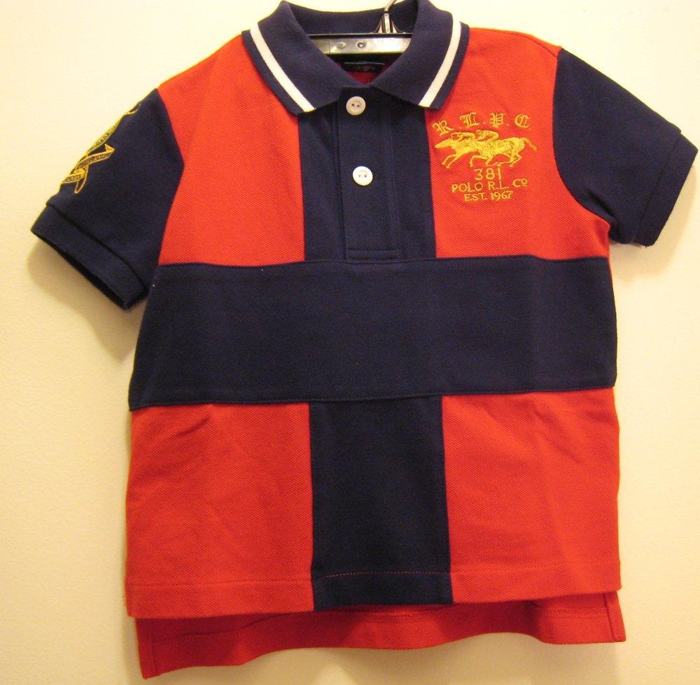 NEW POLO RALPH LAUREN Boys Shirt Top 24M NWT Cotton