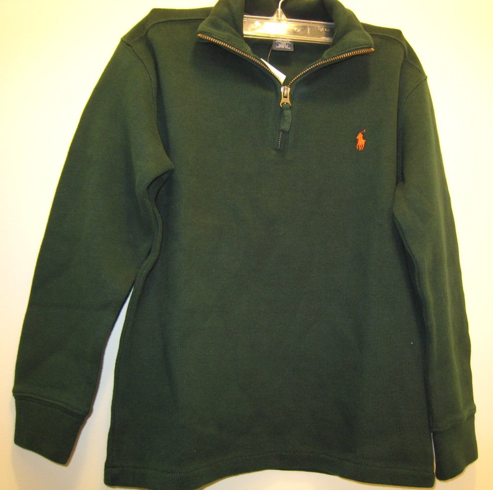 NEW POLO RALPH LAUREN Boys Sweatshirt S 8 NWT Cotton
