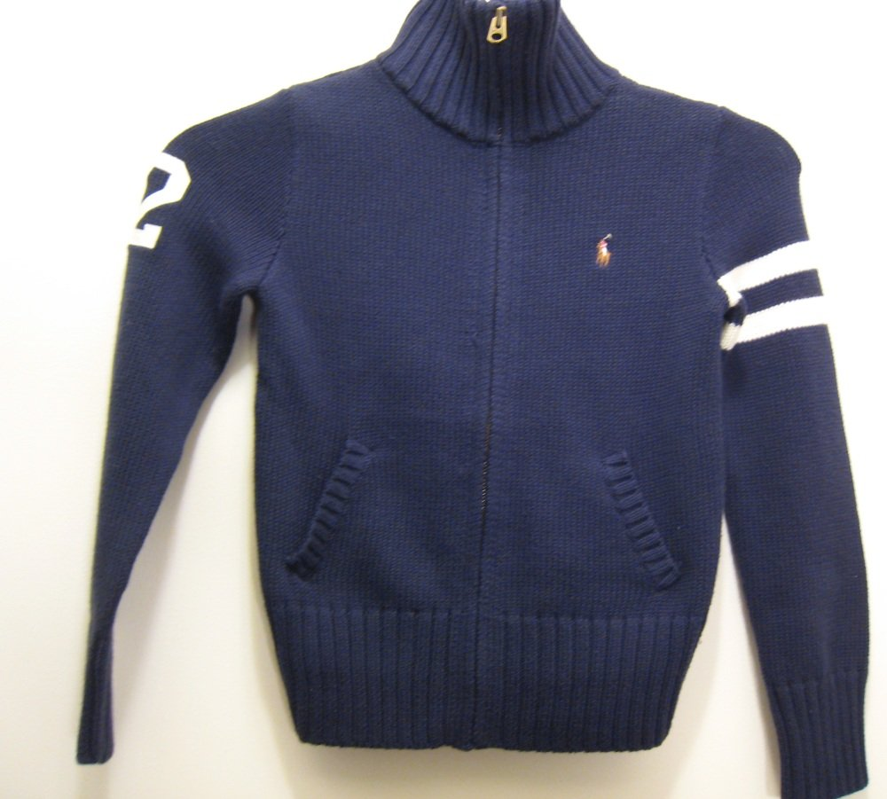 NEW RALPH LAUREN POLO Girls Sweater 6X NWT Cardigan