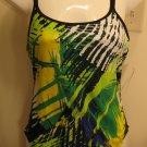 NEW NIKE Womens Swim Strength Swimsuit 38 12 NWT