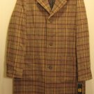 NEW NAUTICA Mens Jacket Coat L NWT $199 80% Wool Large