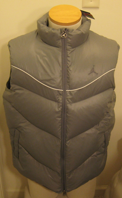 NEW NIKE Jordan Classic Cut Mens 550 Down Vest XL