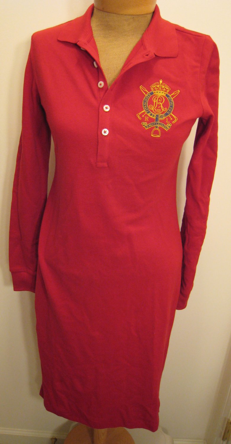 New Selling Leads China Replica Ralph Lauren Women Dress Polo Dress