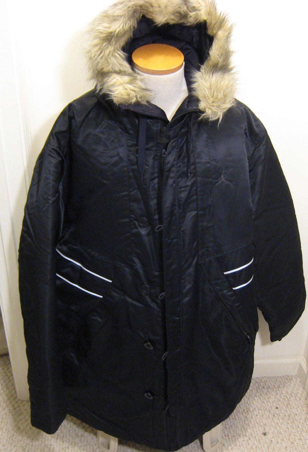 0da959c3575e NEW NIKE JORDAN Mens Hooded Hoodie Jacket Coat 3XL XXXL NWT Black