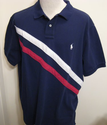 NEW POLO RALPH LAUREN Mens Custom Fit Shirt Top M NWT