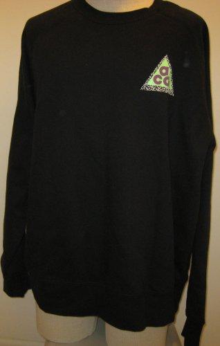 NEW NIKE Mens Sweatshirt XL XLarge 633271 010 NWT Black