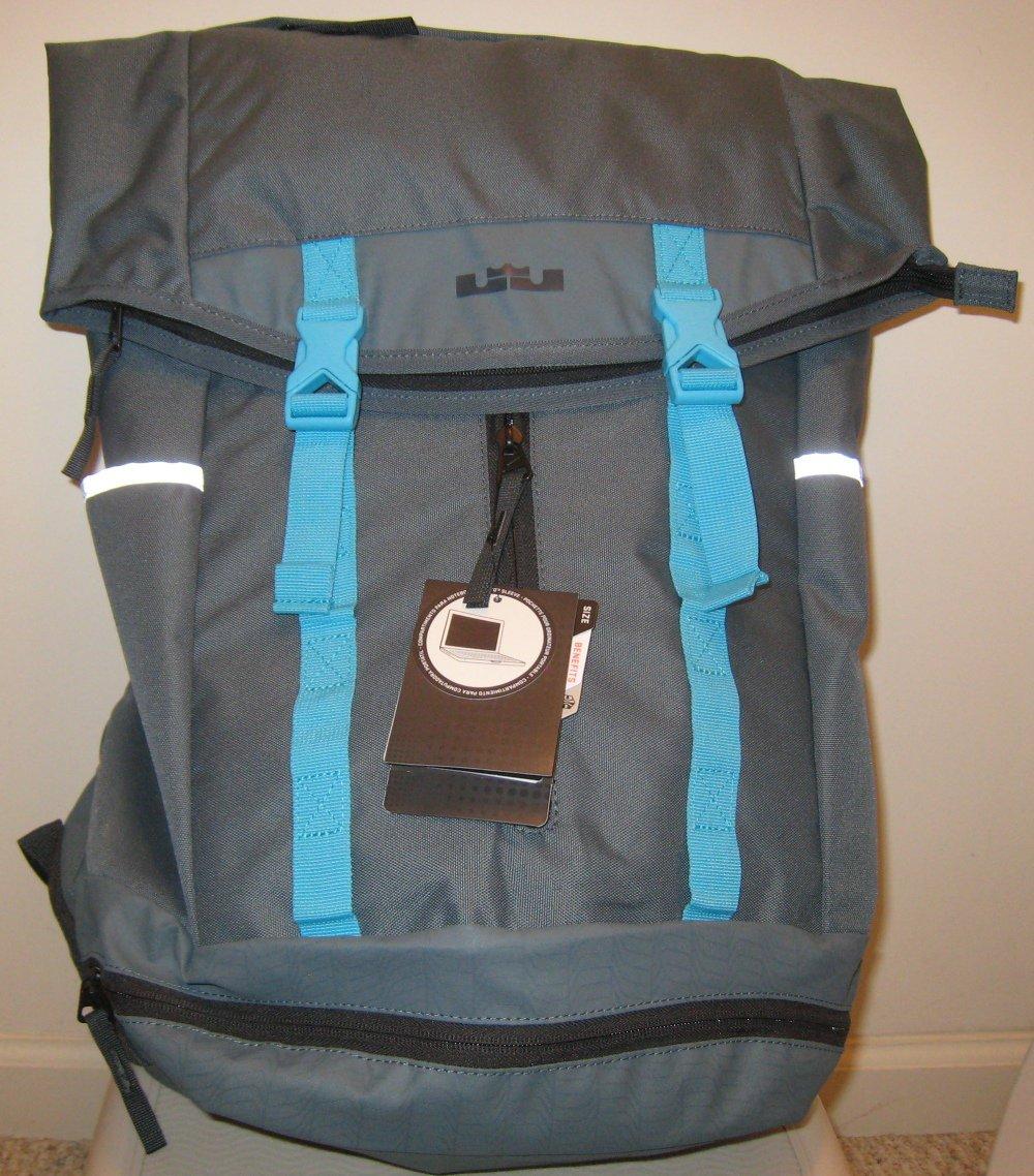 2d5cc79865 NEW NIKE LEBRON AMBASSADOR BA4750 446 Backpack NWT