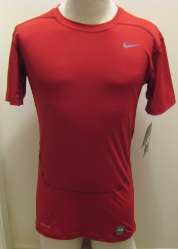 NEW NIKE Pro Combat Core  Compression Dri Fit Mens Shirt Top 449792 653 XL