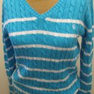 NEW RALPH LAUREN Womens Sweater L Large NWT V Neck
