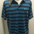 NEW UNDER ARMOUR Mens Golf Polo Shirt L Large NWT 1248084 016 $64.99 Loose Fit