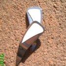 White leather *Zaro design dangle earrings