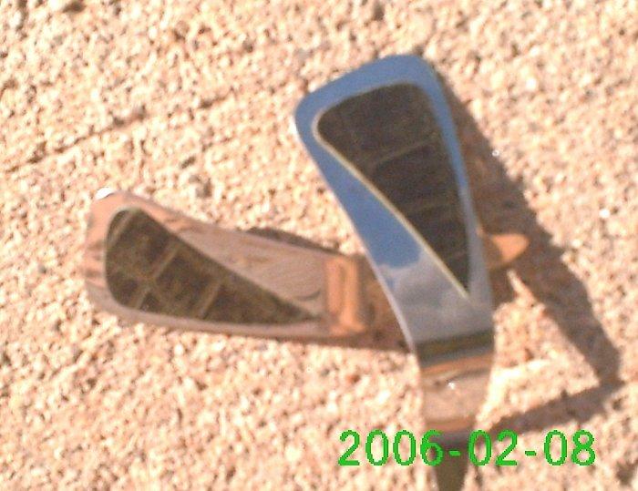 Green crocodile stamped leather *Zaro 2 design dangle earrings